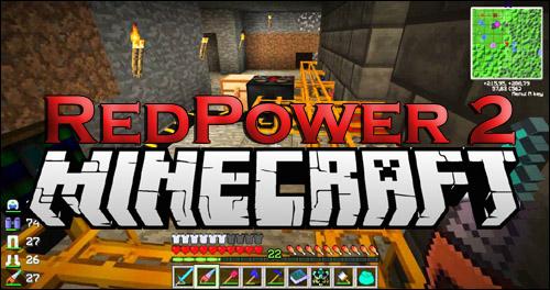 Redpower2 для minecraft 1.5.2