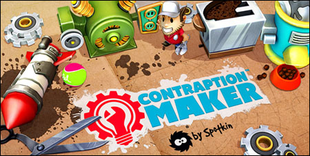 игра contraption maker