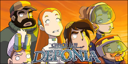 обзор chaos on deponia